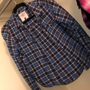 So Blue Flannel